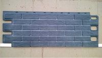 faux Brick Siding wall panel plastic wall panel exterior wall panel
