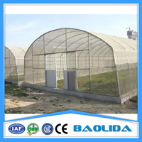 Agriculture Vegatables PE Plastic Tunnel Greenhouse