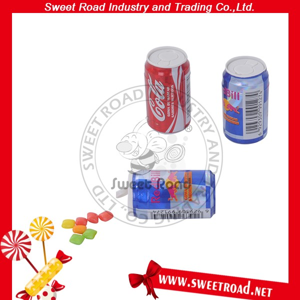 Cola Flavor Halal Chewing Gum in Tin Can