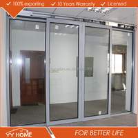 Manufactured in China integrity automatic sliding doors low price for garages