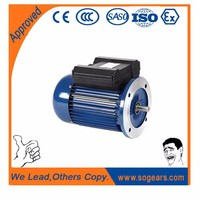 Heavy duty improved YL series 10hp Iron housing 7.5 kw electric motor 2 POLES