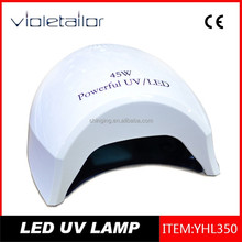 wholesale alibaba 45W led uv nail lamp led curing light