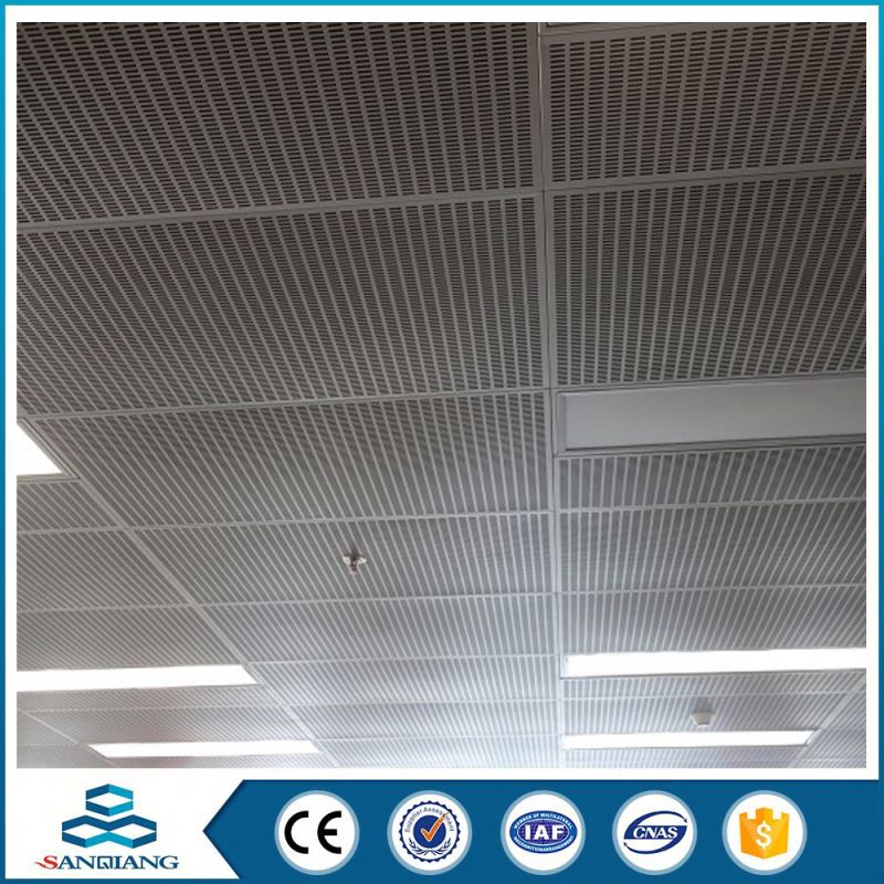 aluminum hole punch thick aluminum perforated metal mesh sheet