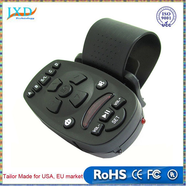 Universal Steering Wheel Remote Control for Car Audio Video CD MP3 16 keys High-capacity memory