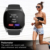 T8M 1.54 inch IPS screen BT 4.0 heart rate monitor 300mah battery BT 4.0 watch iLepo Watch