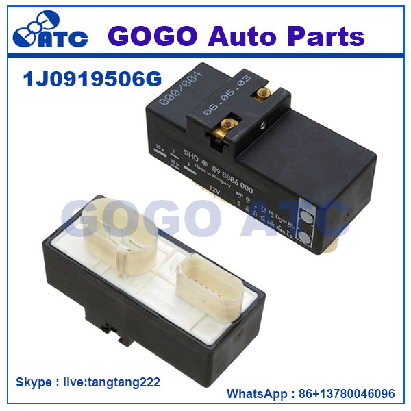 Cooling Fan Control Switch Relay Radiator Module for VW Golf Jetta Beetle OEM 1J0 919 506G 1J0919506G