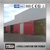 WELLCAMP steel sheet steel structure building