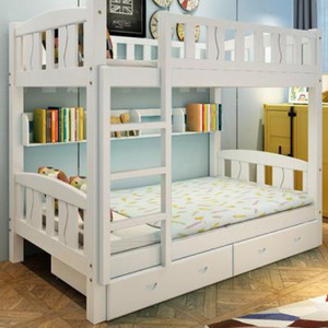 Cheap Price wooden bunk bed for children