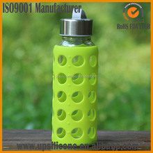 promotion decorating bottle silicone bottle sleeve,glass bottle silicone sleeve
