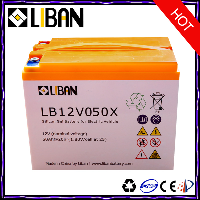12V Electric Rechargeable Lead Battery