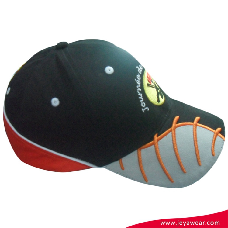 Professional production high quality Multi-Panel satin baseball caps