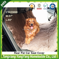 2016 New Design Non Slip Rear Pet/Dog Car Seat Split Cover