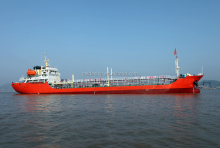 Brand new 3180DWT oil tanker vessel in shipyard for sale