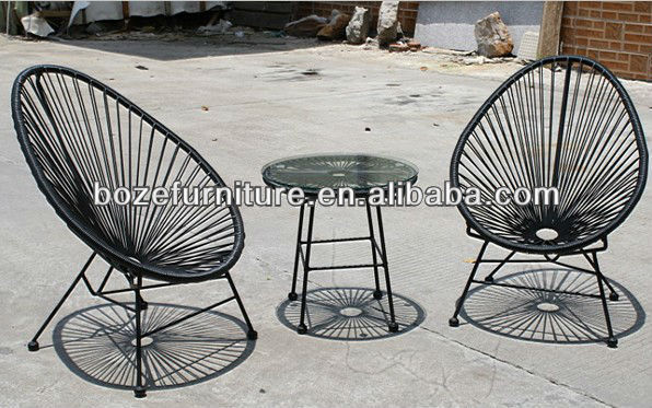 Foshan factory hot sales acapulco chairs and table for kids