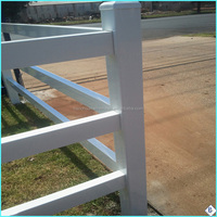 install farm fence metal posts