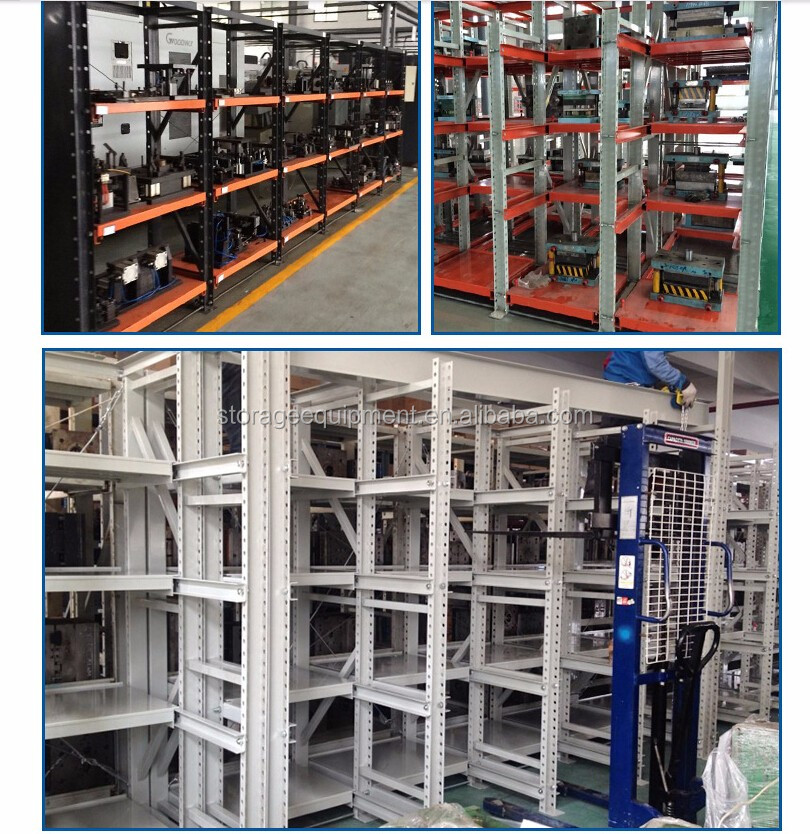 heavy duty mold storage shelf &tooling rack for die