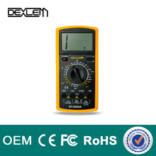 Hot selling DELE brand digital multimeter dt9205 manual with best price