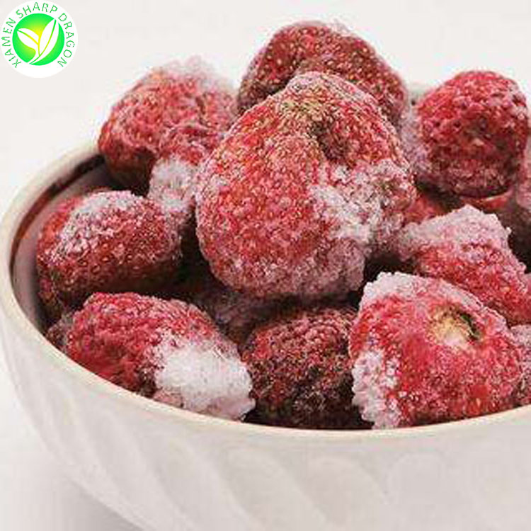 Hot Sale Fresh Newest Frozen Dried Strawberries Frozen Dried Strawberry Granules