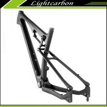 2016 LightCarbon Newest Full Suspension MTB bike Frame 27.5er XC Full Carbon Fiber 650B Mountain Bike Frame LCFS703