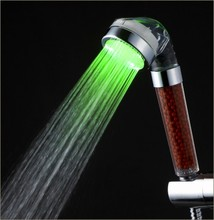LED ABS material hand pressure coating sprayer temperature control SPA shower head
