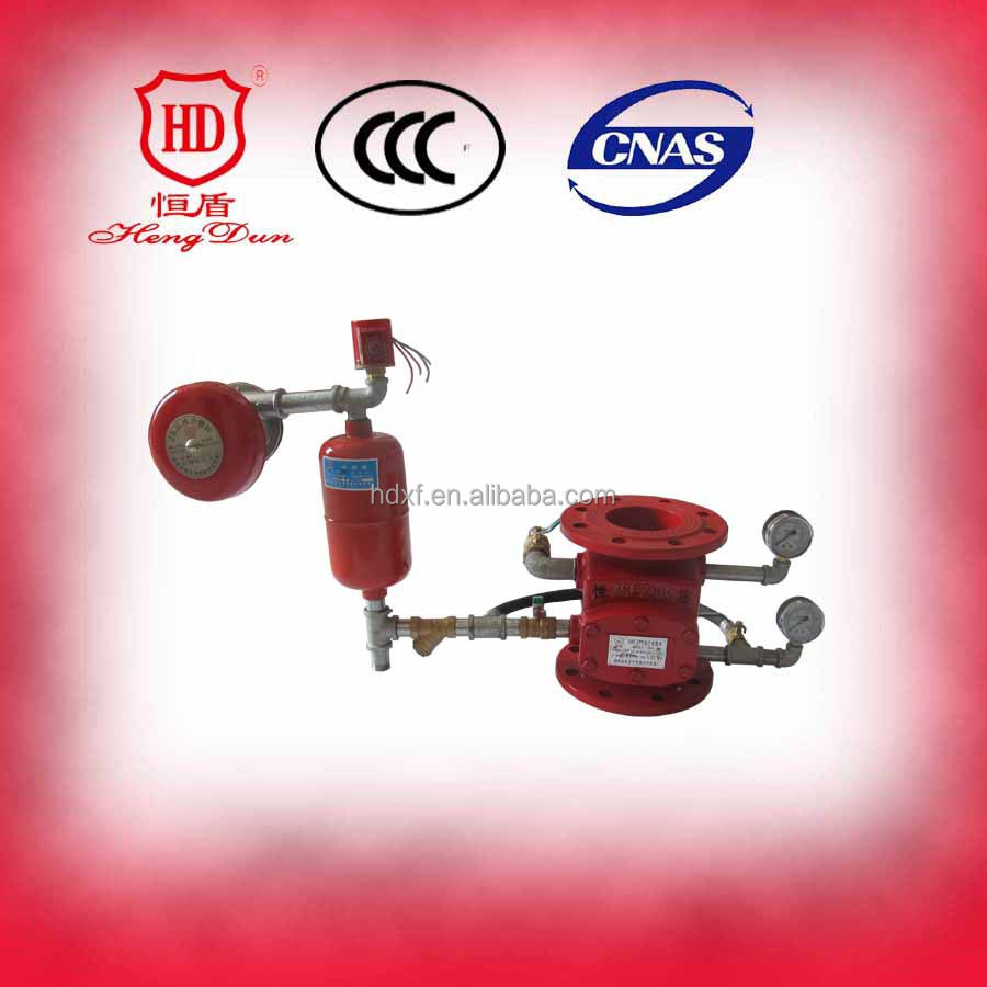 Check water wet price for Alarm Valve Types with Delaying Device For Fire Fighting Equipment