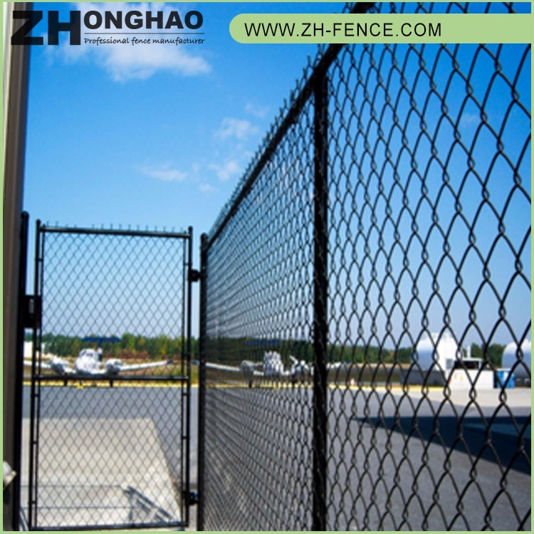 low price used chain link fence gates
