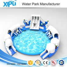 New giant inflatable land water park kids inflatable amusement park for sale
