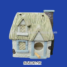 Ceramic glazed decorative garden used painting China Bird House