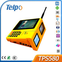 Telepower TPS580 New Design POS Terminal for e-Payment Android Bill Payment Machine Quad Core Android Industrial Phone