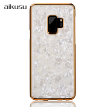 Custom electroplated frame mobile cell phone cover for samsung / iphone x case