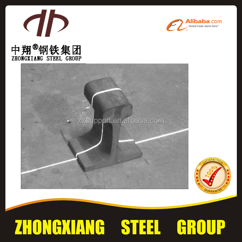Good quality DIN A75 steel crane rail for brick factory