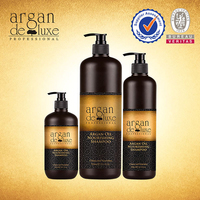 Natural organic hair shampoo with pure argan oil essence special for damaged or gray hair