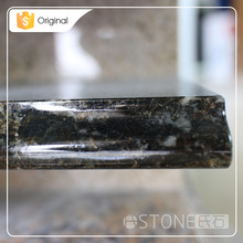 2016 Wholesale Dark Green Granite Stone Vanity Top Countertop