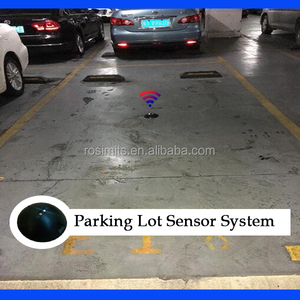 CE Approved Parking Lot Wireless Smart Magnetic Sensor System for Parking Vehicle Detection Carpark Slot Status Monitoring