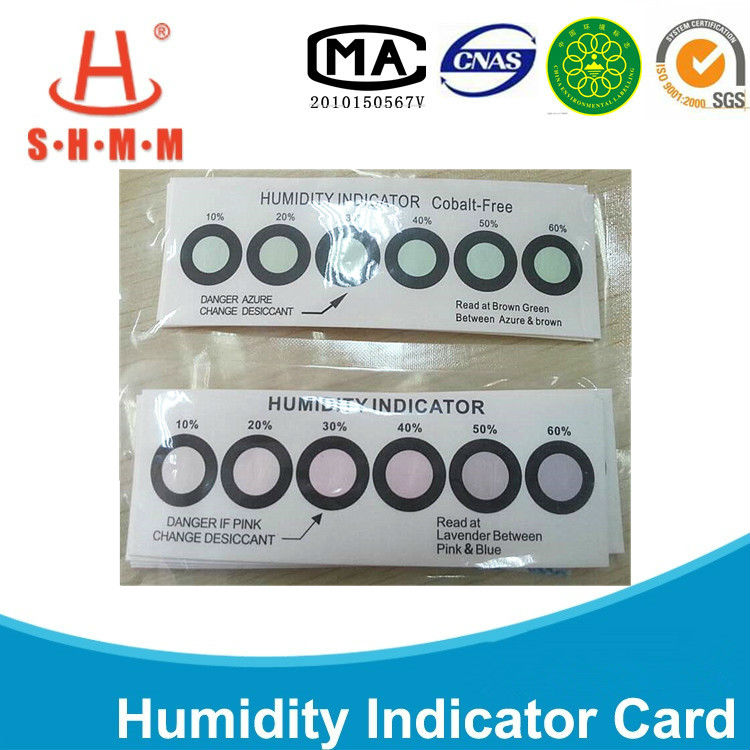 Waterproof packing humidity moisture absorber indicator