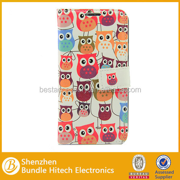 2014 latest new Owl cartoon mobile phone shell, for samsung s5 mobile phone case, for samsung s5 cell phone case