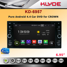 Car DVD Player With USB / Car Half DIN In-Dash DIVX/MP3/CD/DVD Player+USB/SD Slot for CROWN