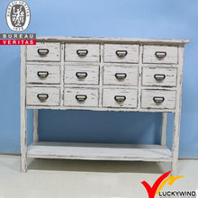 multi drawers shabby chic french chic wood storage chest