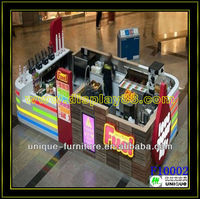 10*10ft top grade used food truck for coffee machine, mall coffee bar counter, carts food for coffee maker with unique style