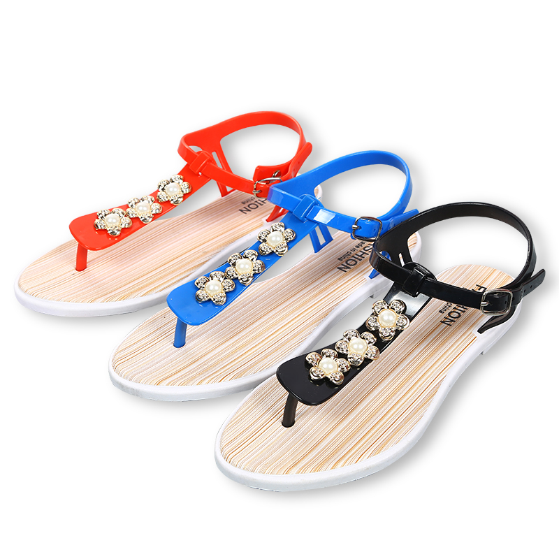 2018 new summer casual non-slip women's sandals wholesale shoe