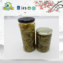 Factory Popular canned food french green bean cut in jar