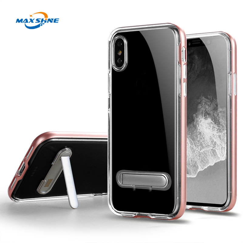For iPhone X Mobile Phone Accessories All-Package Cell Phone Case For iPhone X With Holder Ring