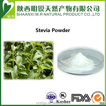 high quality food grade 100% Natural stevia powder extract/stevia extract powder/stevioside extract