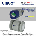 high accuracy wide range remote magnetic flow meter