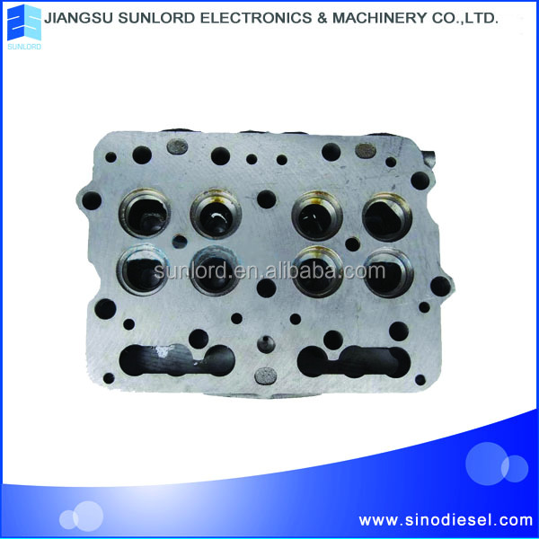 4JB1 diesel engine part cylinder head for tractor