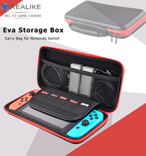 Carrying switch accessories for nintendo plastic storage box carry bag