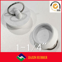 2014 cheap price high quality rubber stopper for sink/ pvc water stopper