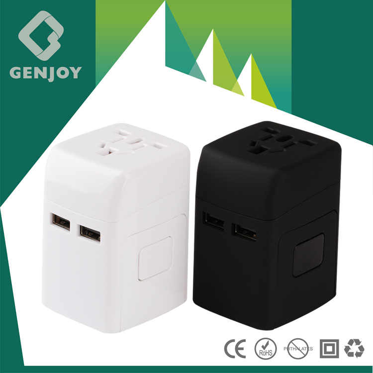 Top Selling Products Electric Power zippy travel adapter with FCC CE ROHS