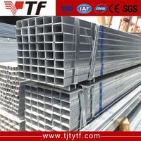 Q195 Q235 Q345 ERW hdpe galvanized hot rolled spcc standard square pipe