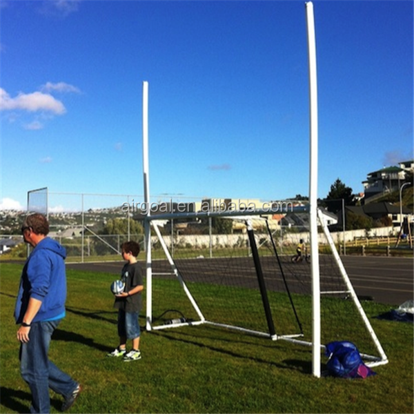 10`*6` portable rugby goal,inflatable rugby goal post